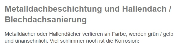 Hallendachsanierung aus  Darmstadt, Pfungstadt, Messel, Egelsbach, Weiterstadt, Roßdorf, Mühltal und Griesheim, Ober-Ramstadt, Erzhausen