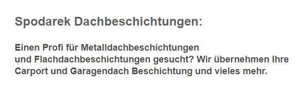 Flachdachbeschichtungen aus 63811 Stockstadt (Main) - Mainaschaff, Aschaffenburg oder Kleinostheim